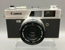 Canon Canonet QL25 Rangefinder Film Camera w/ 45mm f2.5 Lens from Japan - F22