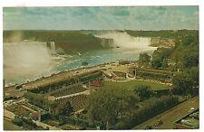 VIEW SHERATON BROCK HOTEL Gorge Islands River Niagara Falls Canada Postcard