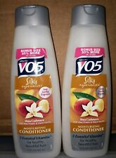 (2) ALBERTO® VO5 SHEA CASHMERE® MOISTURIZING CONDITIONER  15 Fl Oz Ea Bottle