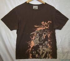 Rare 2004 Official Licensed Anime KUROSAWA SAMURAI 7 GROUP Soft Brown T-shirt M