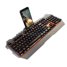 AJAZZ USB Gaming Mechanische Tastatur Wasserdichte 104 Tasten für PC Gaming J9D5