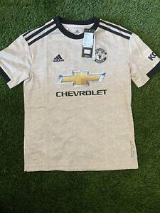 Manchester United Away Shirt Medium Boys Age 11-12 BNWT
