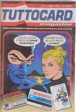 TUTTOCARD MAGAZINE N.1 1996 DIABOLIK