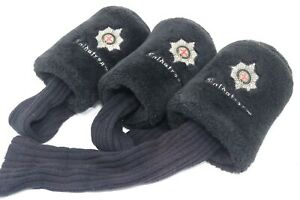 Vintage Coldstream Country Club Ohio Knitted Golf Club Head Cover 3-pc Set