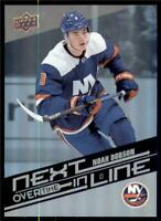 2019-20 UD Overtime Wave 2 Next In Line #NL-17 Noah Dobson - New York Islanders
