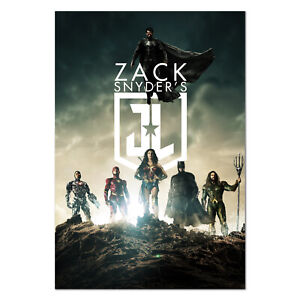 Justice League Snyder's Cut 2021 Movie Poster - Official Art - High Quality