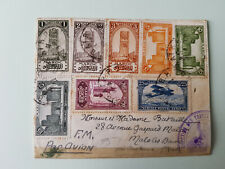 Morocco ~ 1930, airmail cover to France