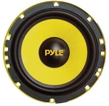 "Pyle PLG6C Component System 6.5"" Gear;400Watts;Ylw Mids/Xovers"