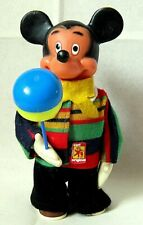 AUTOMATE CARL-MICKEY MARCHEUR BALLON WALT DISNEY-FONCTIONNE-MADE IN WEST GERMANY