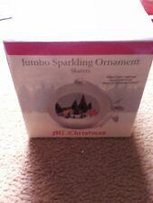 Mr. Christmas Jumbo Sparkling Ornaments