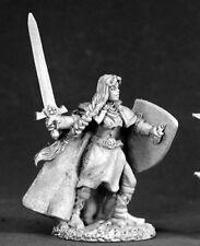Reaper Miniatures Ava, Female Templar 02459 Dark Heaven Legends Unpainted Metal