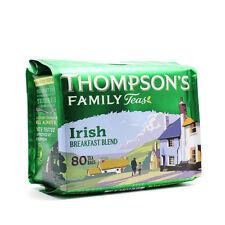 Neuf Thompson Irish Breakfast Tea 80 Sachets De Thé