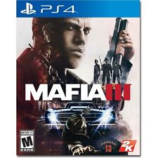 MAFIA III 3, SONY Playstation 4 PS4 Game (Brand NEW, Sealed Disc)