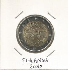"""FINLANDIA - 2 Euro comm. 2010 """"150° della Zecca"""" FDC"""
