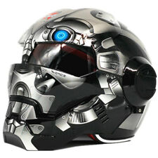 War Machine Bumblebee Men Iron Man Gary Motorcycle Helmet Half Helmet Open Face