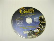 THE GOLDEN GAMES - HISTORY OF MODERN OLYMPICS 1896 - 2000 - DISC ONLY(DS)  {DVD}