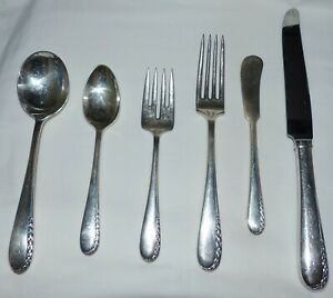 Ultra (Silverplate, 1934) by WALLACE SILVER COMPLETE 62 pieces serving pieces
