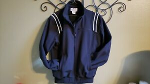 Smitty Umpire Jacket Size M Black Base Thermo Polyester Water Resistant Referee