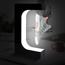 Unique Shoe Storage Box Container LED Light Levitating Floating Sneaker Display