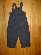WONDER KIDS BOYS GIRLS SNOWPANT SUIT SNOW PANTS BIB BUNTING SUIT sz 4T 4 T BLUE