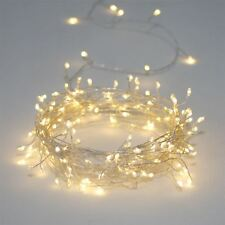 Silver Cluster - 300 LED Indoor/Outdoor Light Chain - Mains Powered