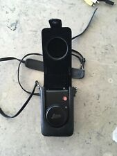 Leica D-LUX 4 10.1MP Digital Camera - Black with leather LEICA case