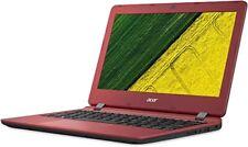 "Acer Aspire ES1-132 Portable Laptop 11.6"" HD 32GB Celeron Red Wifi Windows 10"