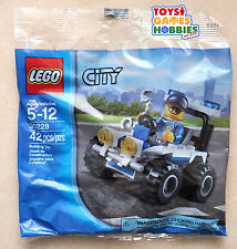 *NEW* LEGO City Police ATV 30228 Polybag Set Cop Minifigure Minifig 4x4 Creator