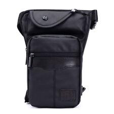 Men's Oxford Drop Leg Bag Waist Fanny Pack Belt Hip Bum Messenger Shoulder Bags