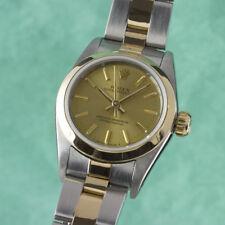 Rolex Oyster Perpetual Stahl / Gold Automatik Damenuhr Ref. 67183 VP: 7650,- €