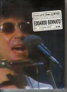 Edoardo Bennato i concerti Live @ RTSI 1979 - CD + DVD - nuovo sigillato