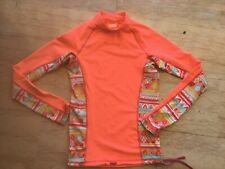 DECATHLON: SUPERBE POLO FILLE PROTECTION SOLEIL ANTI-UV T. 12 ANS, FLASHY