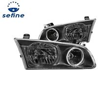 ANZO HEADLIGHTS HALO BLACK FOR 00-01 TOYOTA CAMRY 4DR  #121123