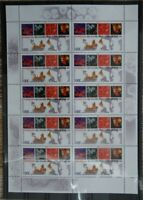 10  x Bund 2136 KB postfrisch Kleinbogen BRD Zehnerbogen Club 10 Tropenmedizin