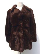 Manteau en fourrure synth '70s *Vintage* synth Bont Jas