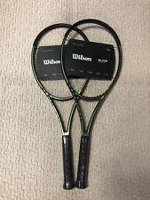 2X NEW 2021 Wilson Blade 98 16x19 V8 Tennis Racquet Grip Size 4 1/4