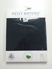 NEW FREE SHIP - Petit Bateau Girls Sleeveless Dress - Black 12 Year - Cotton