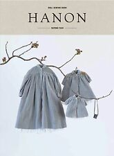 HANON- DOLL SEWING BOOK Blythe Outfit Clothes Patterns JP/English●With tracking●