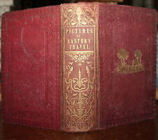 1838 The Spirit of the East Pictures of Eastern Travel MAP Greece Urquhart 2nd