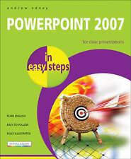 PowerPoint 2007 In Easy Steps,Andrew Edney,Excellent Book mon0000063709