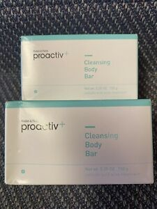 Proactiv+ Cleansing Body Bar 5.25 Oz NEW & SEALED Exp 05/2018 (Lot Of 2) *LOOK*