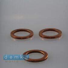 1 x LEXUS DICHTRING ÖLABLASSSCHRAUBE 12x17x1,5MM KUPFER RING 11128-01M05