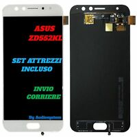DISPLAY TOUCH SCREEN ASUS ZENFONE 4 SELFIE PRO ZD552KL +TOOLS VETRO Z01MD BIANCO