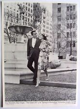 TONY BENNETT 1963 Poster Ad A THE GOOD LIFE spring in manhattan