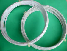 Millinery wire - COTTON covered - HARD / FIRM 1mm diameter 10m