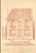 78 MAISONS-LAFITTE HOTEL PARTICULIER ARCHITECTE TAVERNIER IMAGE 1917/20