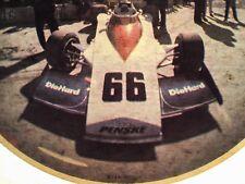 VTG 70s Penske Die Hard 66 Formula one f 1 Ford 500 racing car t-shirt iron-on