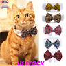 Cute Pet Dog Puppy Cats Toy Bow Tie Necktie Collar Clothes For Wedding Party USA