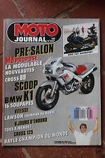 MOTO JOURNAL N°857 ★ BMW K1 ★ GRAND PRIX, JEAN-MICHEL BAYLE, ISDE 1988