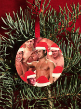 ZAC EFRON Santa Christmas Tree Ornament Ugly Holiday Party Gift Exchange